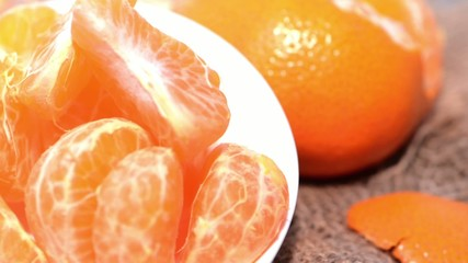 Rotating Tangerines (Loopable)