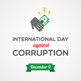 International Day Against Corruption poster