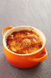 Creme brulee in a cocotte