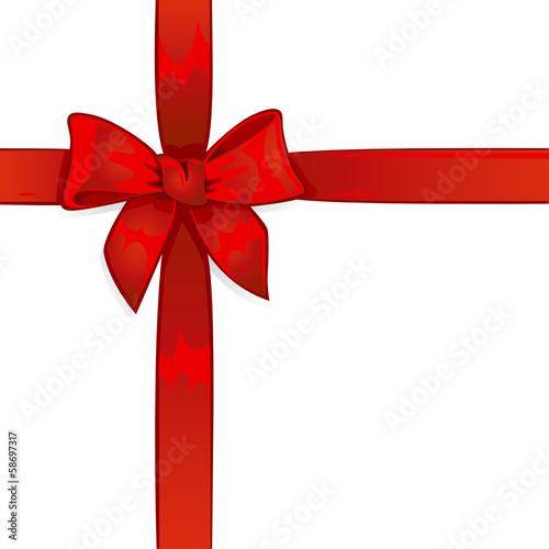 rote schleife geschenk von matthias enter lizenzfreier vektor 58697317 auf. Black Bedroom Furniture Sets. Home Design Ideas