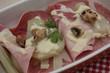 Fenouil braisé - Jambon sauce béchamel
