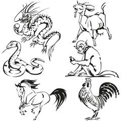 Asian zodiac1