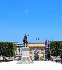 esplanade du Peyrou - Montpellier