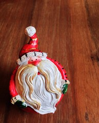 The santa claus doll as christmas item