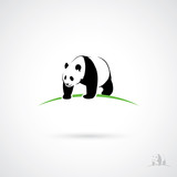 Giant Panda label