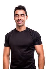 Fitness instructor posing
