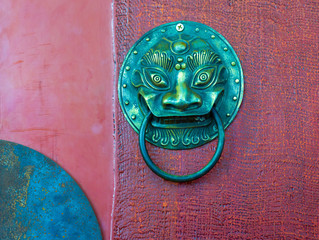 Traditional Chinese Door knocker