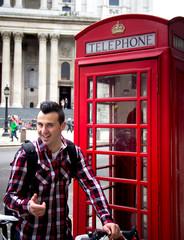 tourist in London