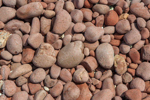 red pebbles background