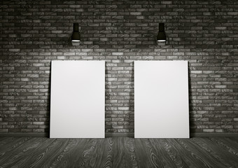 Two whiteboards in the room