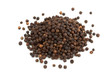 heap of black peppercorns