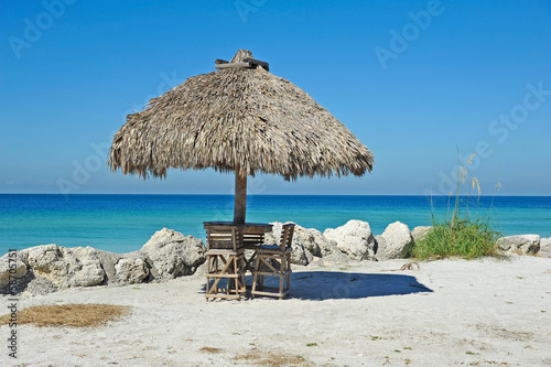 Beach Tiki Hut Bar - 58705751