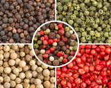 varieties of peppercorns