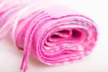 Woolen pink scarf