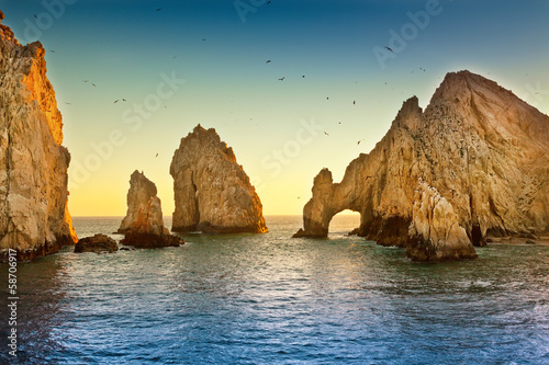 Foto op Canvas Mexico Land's End