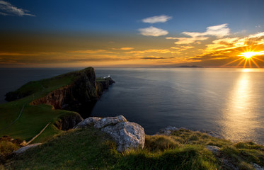 Neist Point Lighthouse Scotland
