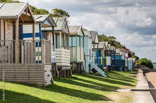 Beach Huts and Shadows