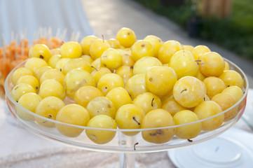 frutta vassoio