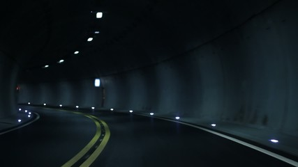 Tunnel drive through