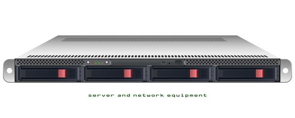 Server rackmount 1u chassis
