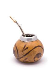 Yerba Mate tea Calabash (traditional pumpkin cup)