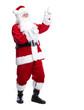 Santa Claus isolated on white.