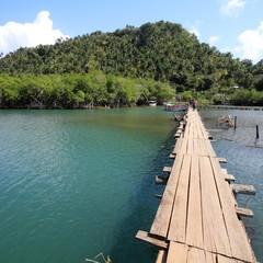 Cuba - Rio Miel bridge in Baracoa