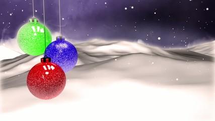 Christmas Balls 3 versions