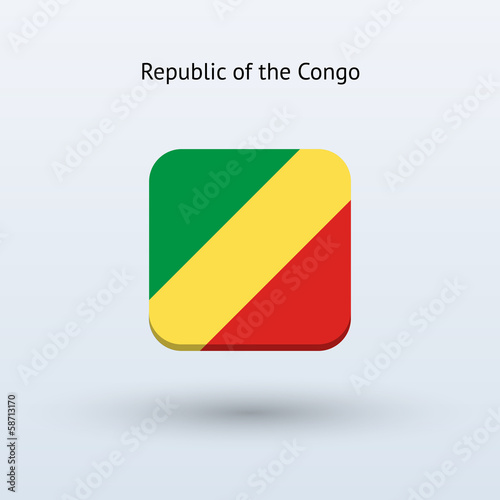 Republic of the Congo flag icon