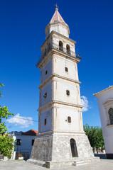 Church of Agia Mavra in Zakynthos, Greece.