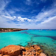 Formentera Cala Saona beach Balearic Islands