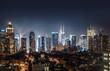 Night view of Midtown Manhattan
