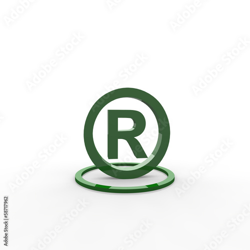 copyright, registered, registriert,