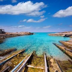 Formentera Escalo de San Agustin beach