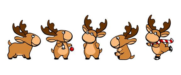Santa's deer