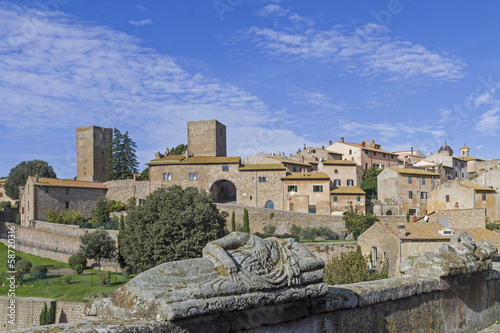 canvas print picture Tuscania