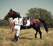 Rider on horse - 58723120