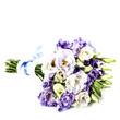 Beautiful eustoma flowers  bouquet