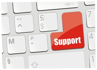 clavier support