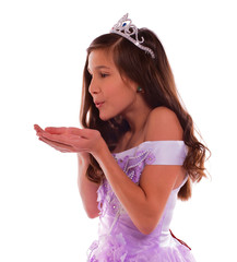 Young Princess Blowing Dream