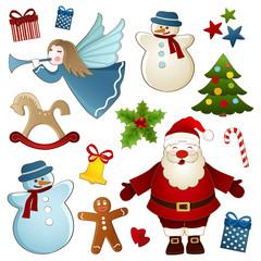 Christmas isolated elements