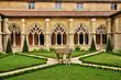 France, Cadouin abbey in Perigord