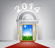 New Year New Dawn Door 2014