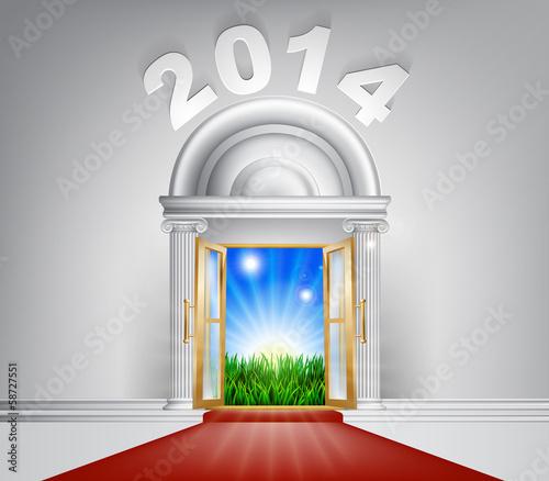 New Year New Dawn Door 2014