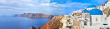 Panoramic view of Oia village on Santorini island, Greece. - 58728909