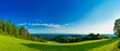 canvas print picture - Panorama Landschaft