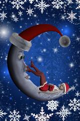 Weihnachtspostkarte