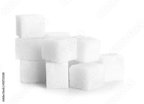 Studio photography of a lump sugar