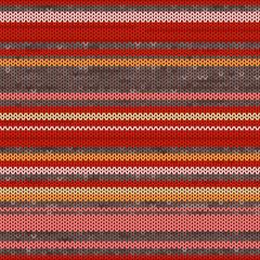Striped Knit Seamless Pattern, illustration