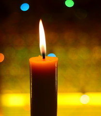 candle light and bokeh
